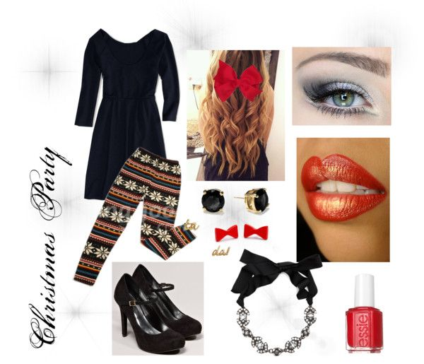 """""""Christmas Party Outfit"""" by amazinggracevw ❤ liked on Polyvore"""