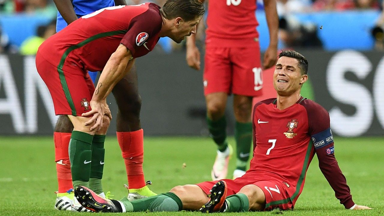 Cristiano In Tears How Ronaldo Suffered Euro Heartbreak Again Celta
