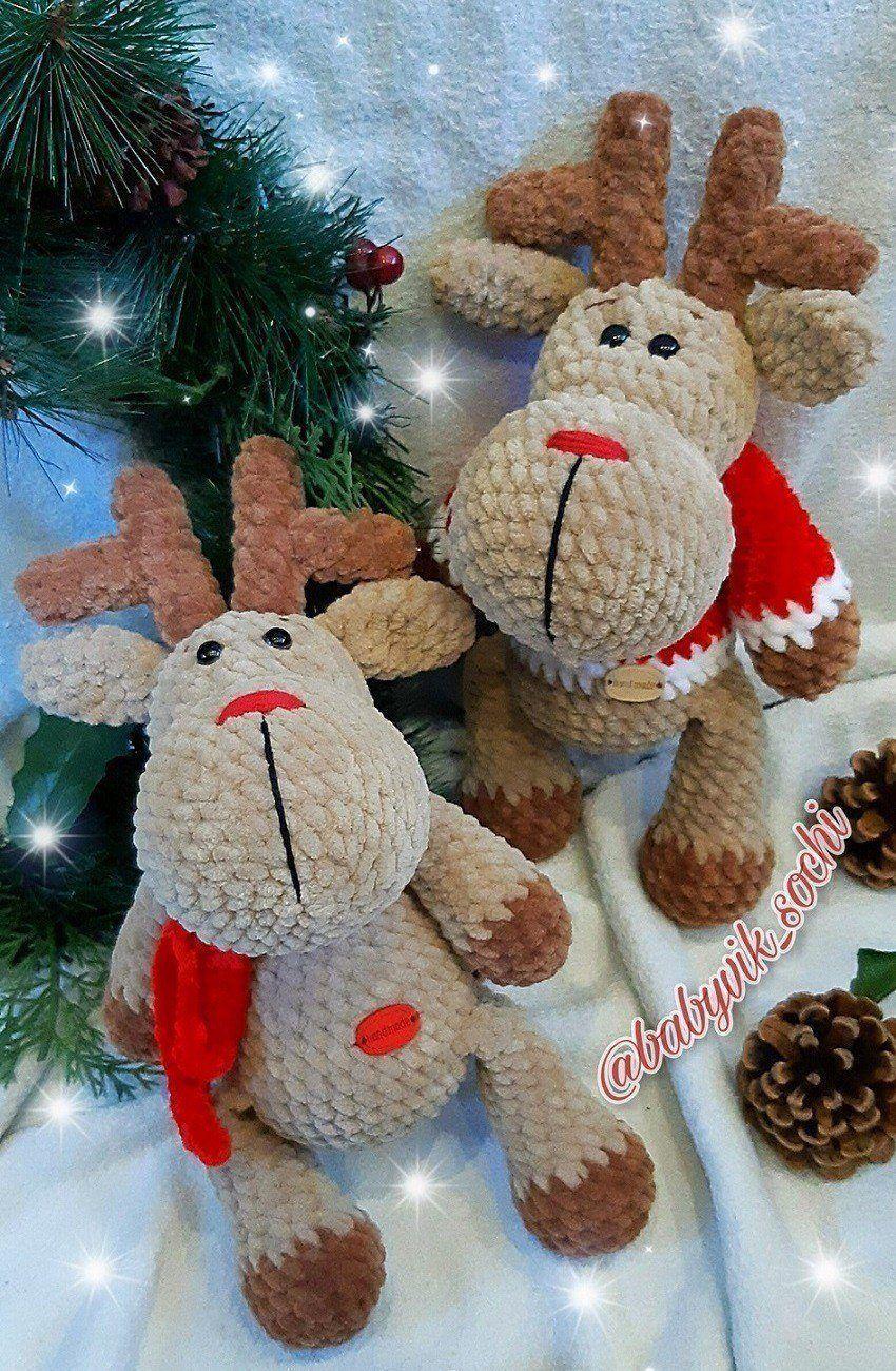 Photo of Weihnachten Rentier Amigurumi #amigurumicrochet Weihnachten Rentier Amigurumi Patt …