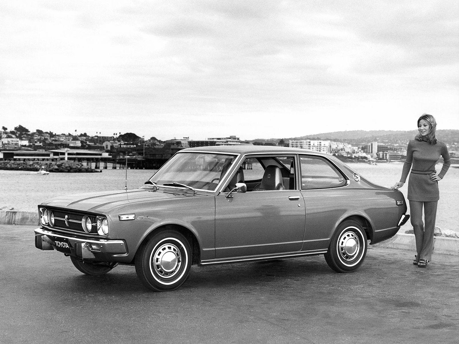 トヨタ゠リーナ1600年2ドアム゠ダン北米(TA12)」1971年から1977年