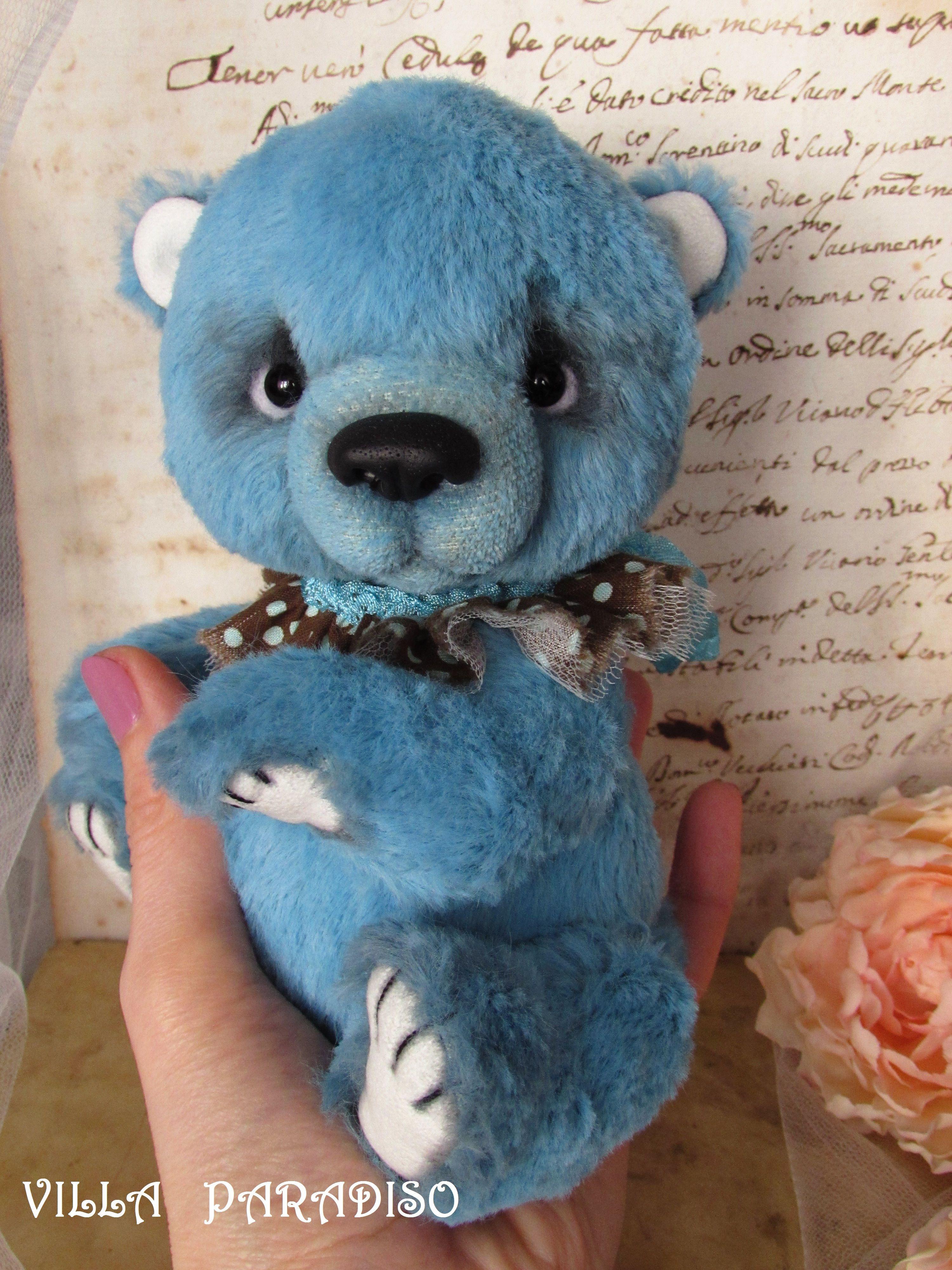 Artist teddy bear OOAK by Villa Paradiso
