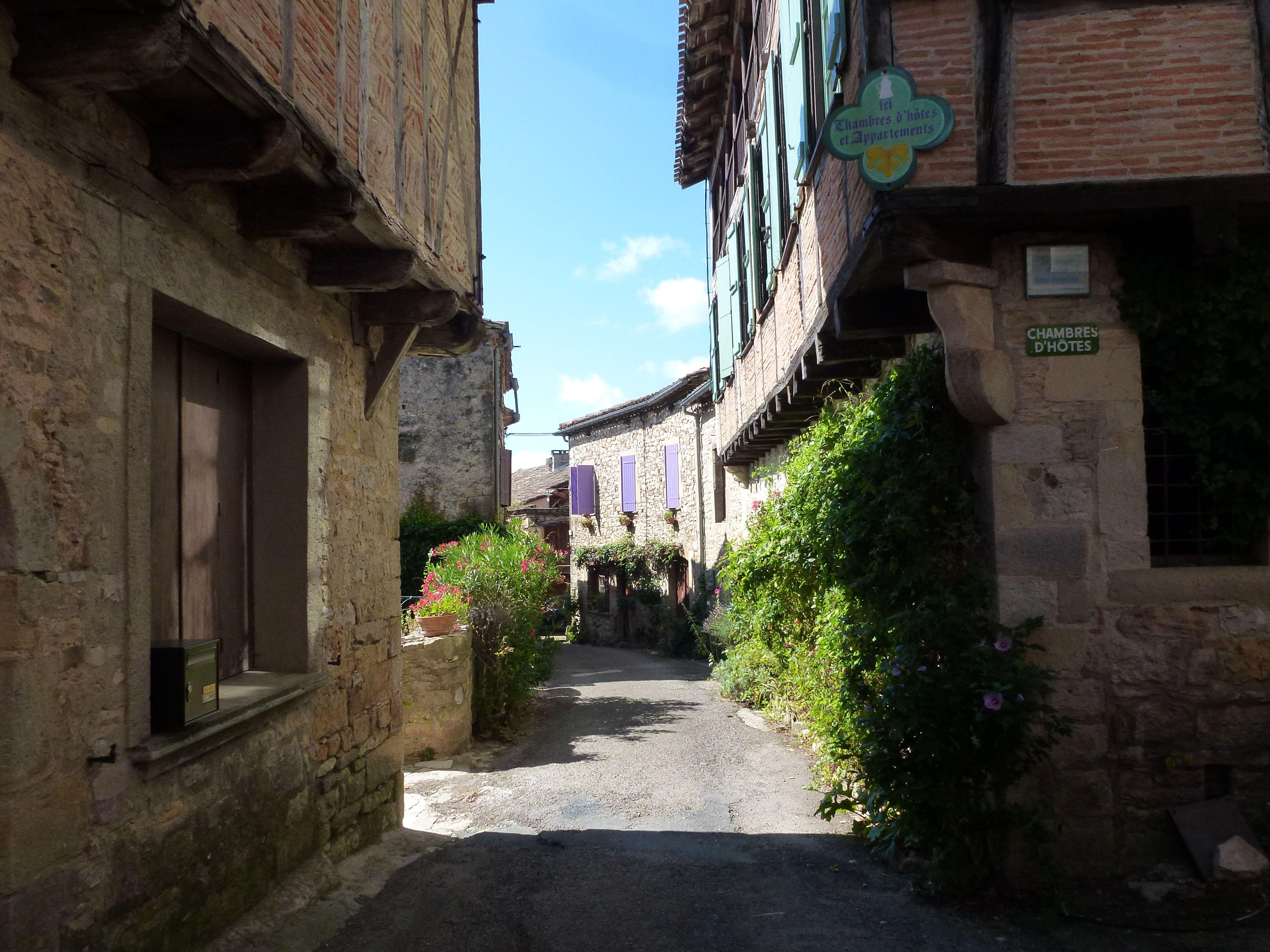 Puycelsi Castelnau de Montmiral Albi Tarn Languedoc Roussillon