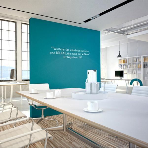 Achieve motivational quote wall sticker - Medium 100 x 20cm