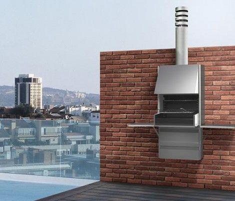 Barbacoa de dise o plegables plek 66 en acero for Disenos de cocinas integrales para espacios pequenos