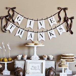 Get Great Thanksgiving Decoration Do it Yourself Project 1