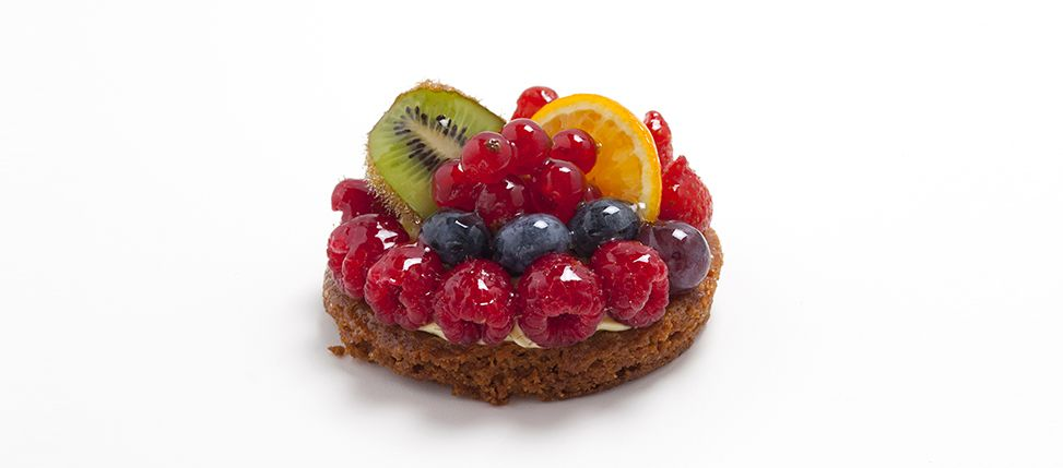 Tropezienne Mixed Fruit Tart.