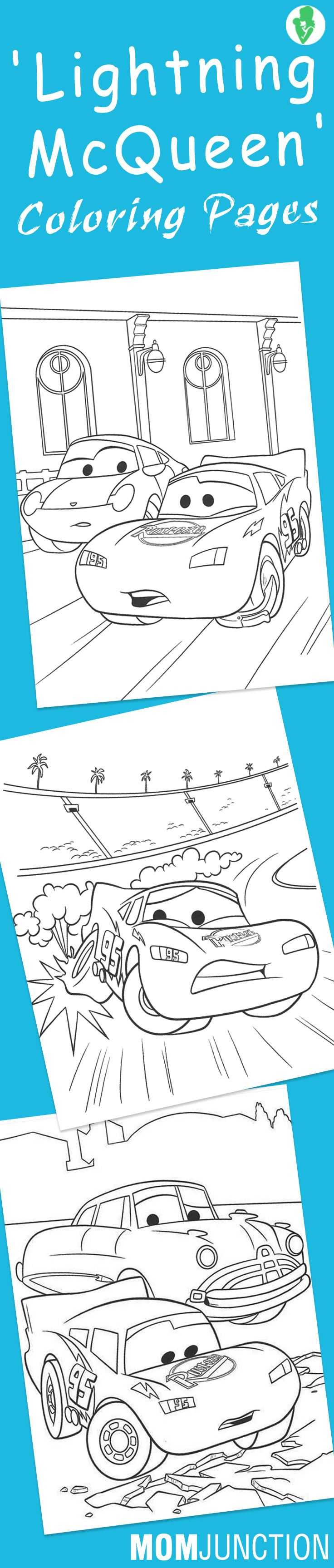 Top 25 \'Lightning McQueen\' Coloring Page For Your Toddler | Colorear ...