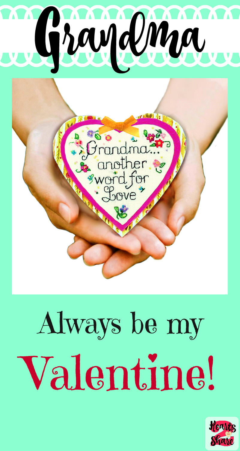 grandmaanother word for love a sweet heartfelt saying on a beautiful handcrafted heart magnet a perfect gift for kids to give to grandma