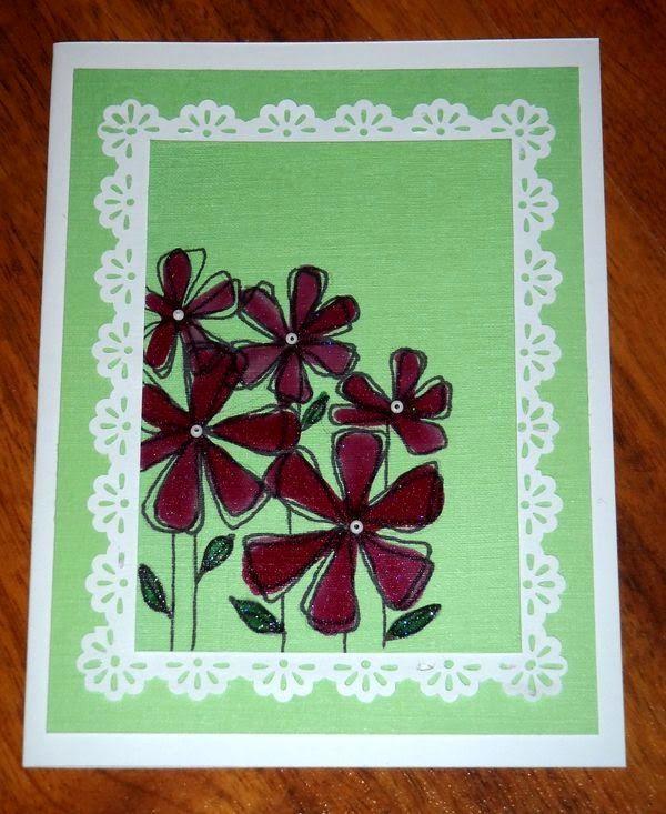 Kika's Designs : Red Flowers