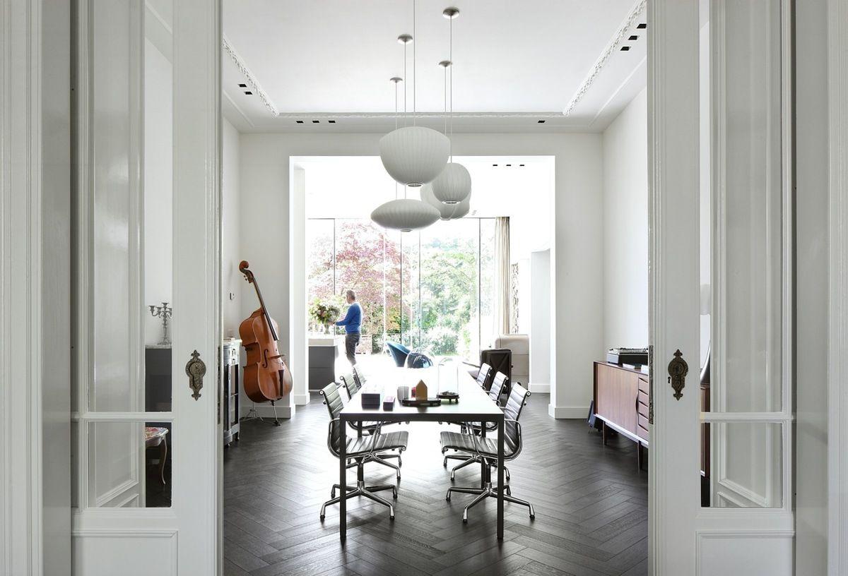 Modern Interieur Herenhuis : Renovatie herenhuis breda obly woontours modern