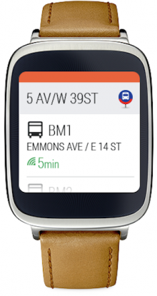 Moovit Reveals Apple Watch and Android Wear Apps Android