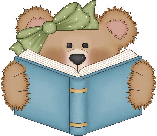 vintage bear clip art bear reading a book cute clip art rh pinterest com Koala Face Clip Art Koala Bear