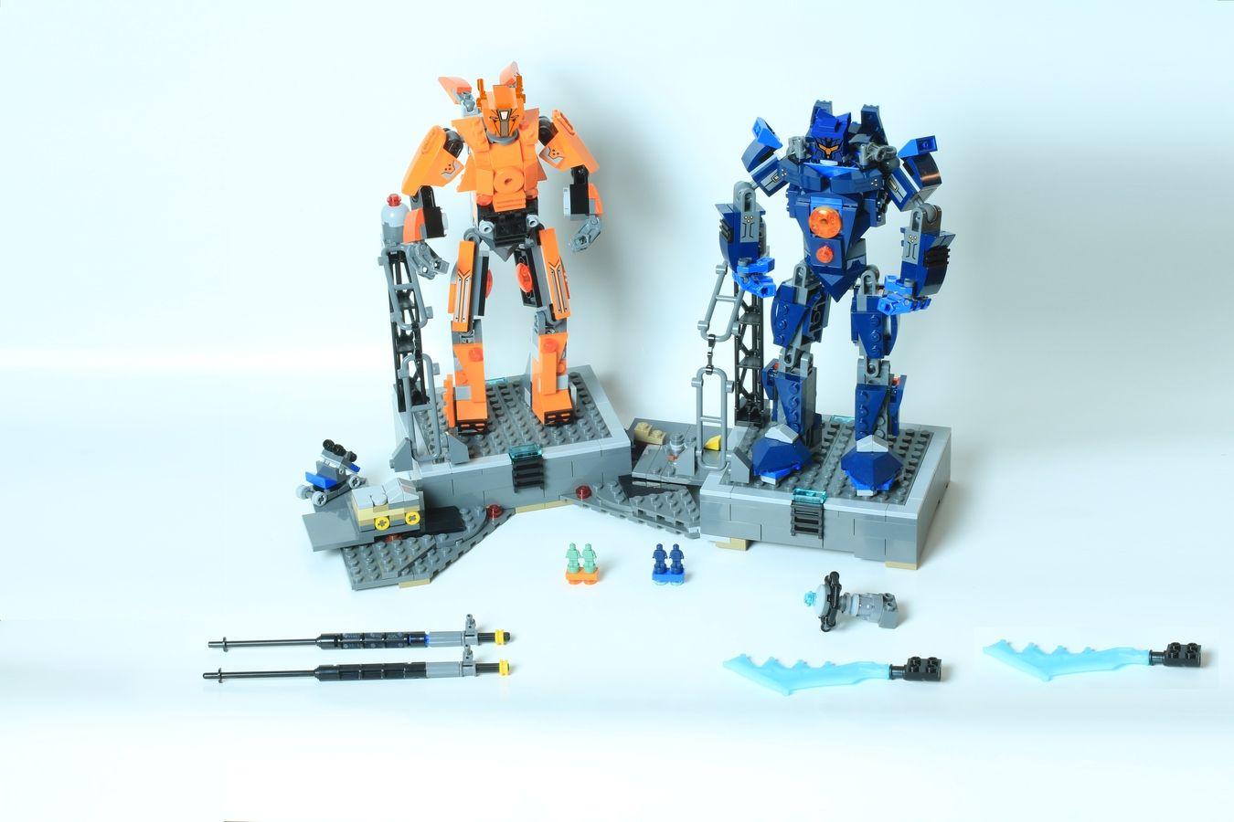 Pacific Rim Equipment >> Pacific Rim Uprising Jaegers Micro Scale Pacific Rim