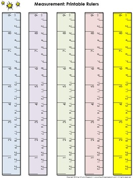 Ruler Measurement Tools: Printable Rulers Whole Inch and ...