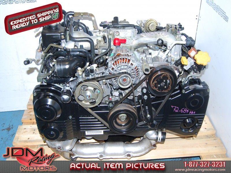 Jdm Subaru Wrx Impreza 2002 2005 Ej205 Dohc 2 0l Avcs Engine Ebay