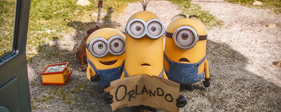 Good The Minions Attempt To Make Their Way To Villain Con In Orlando Pictures