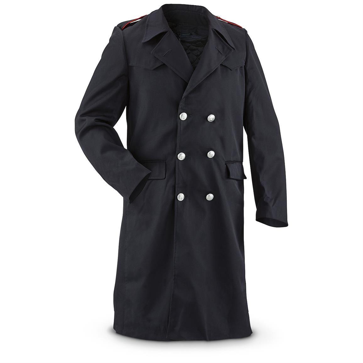 b1943f60766 New Italian Military Police Surplus Carabinieri Overcoat