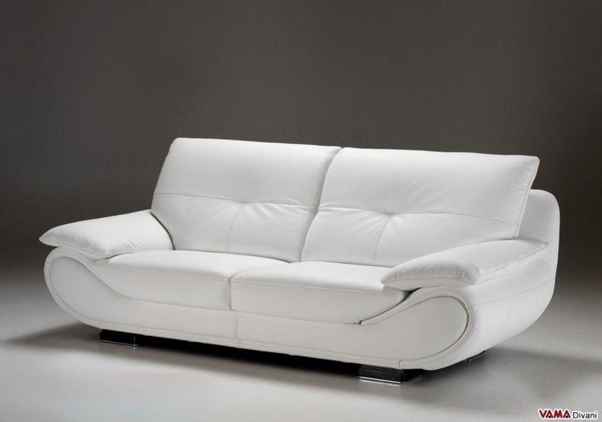 Divano Letto Pelle Bianco.Divano In Pelle New Zealand Muebles De Sala Modernos Muebles