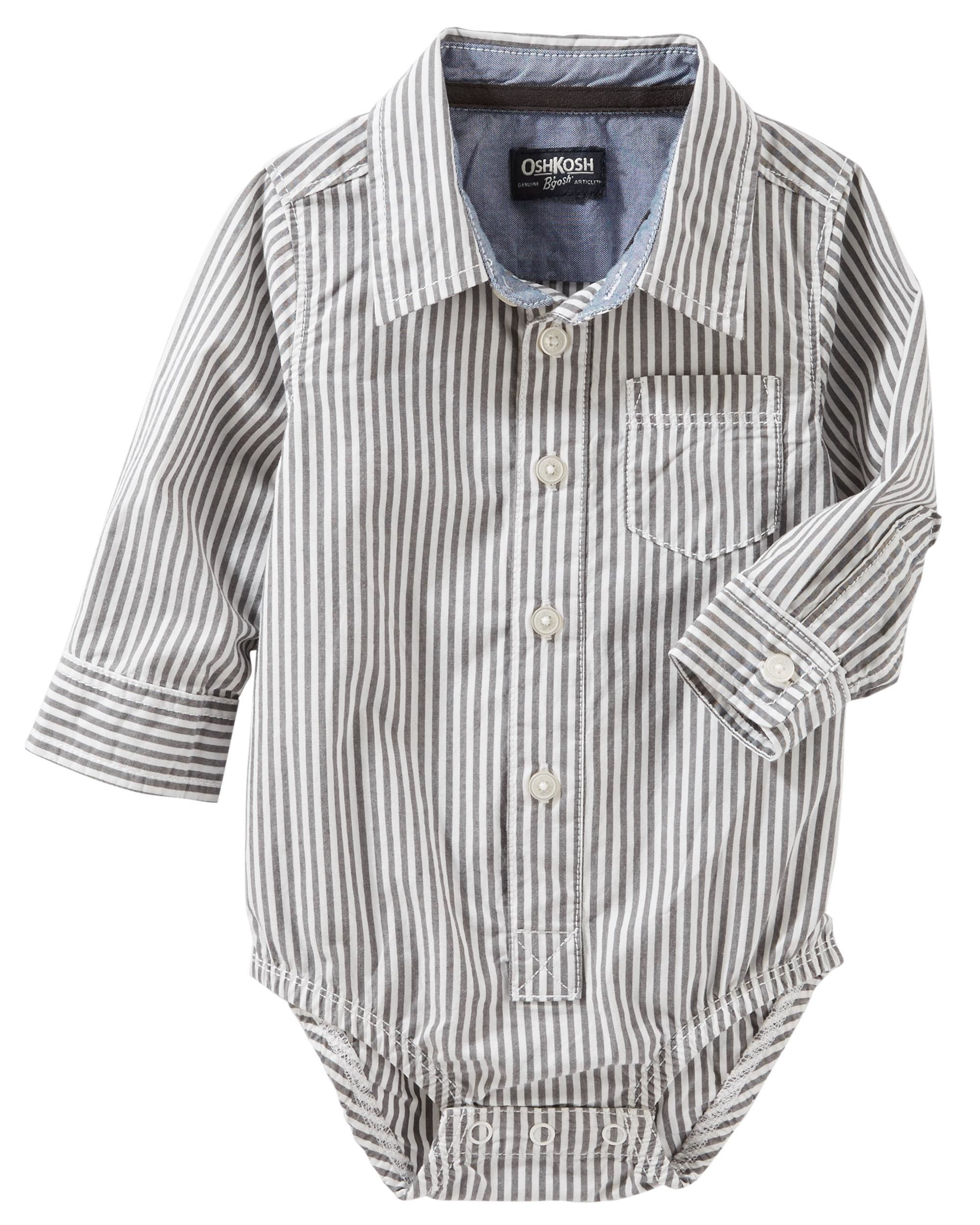 bf02f0b7 Toddler White Dress Shirt Bodysuit   Kuenzi Turf & Nursery