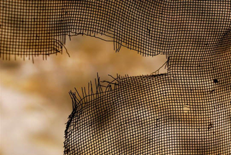 staple wire mesh over a screen door, handyman magazine