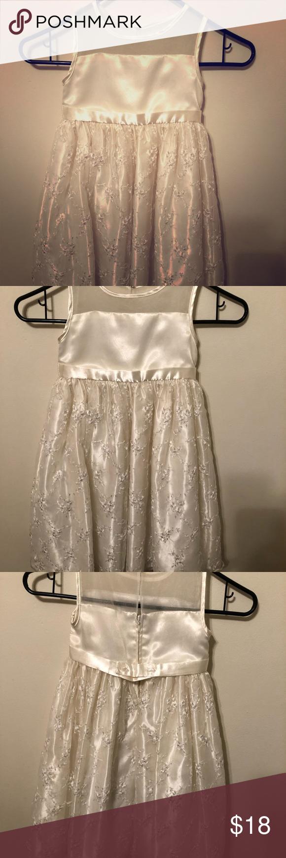 Dress Girls White Dress Dresses Cinderella Dresses [ 1740 x 580 Pixel ]