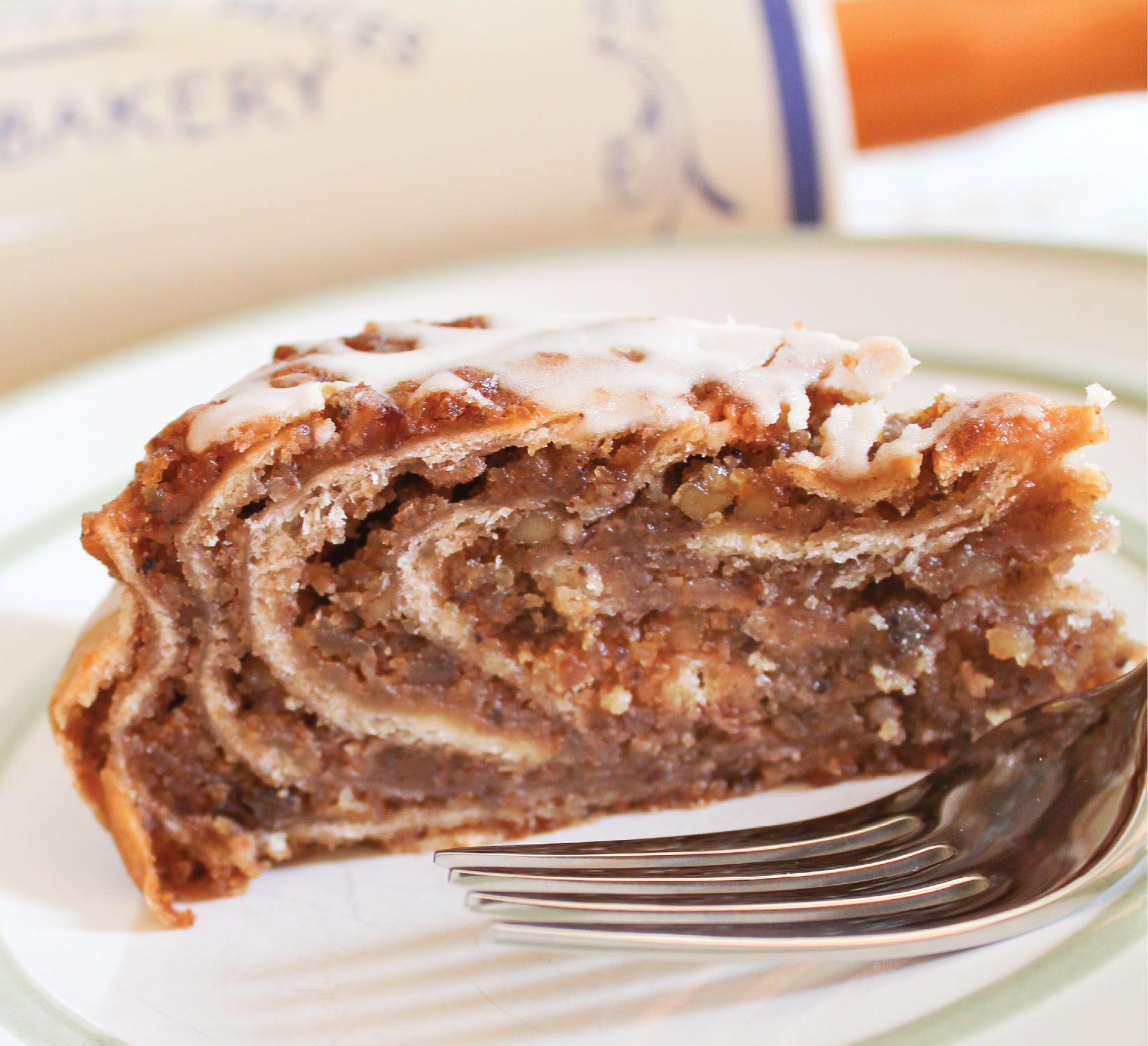 Our potica coffee cakes are crafted from the same dough