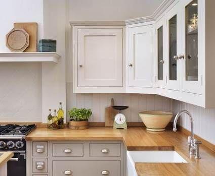 39 Ideen für Küchenschränke zweifarbige Kombihauben