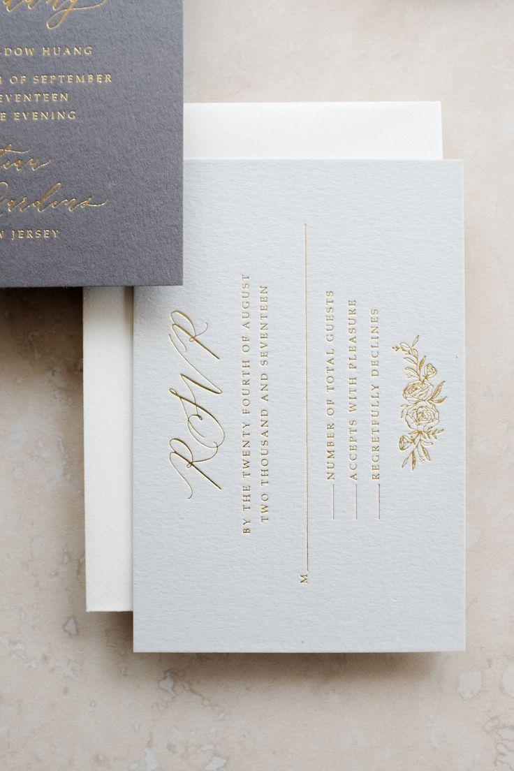 Michaela McBride Calligraphy Wedding Invitation Stationery Suite ...