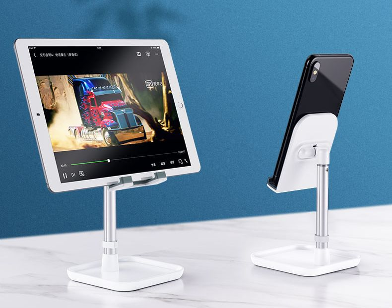 iPhone and smart phone desk holder