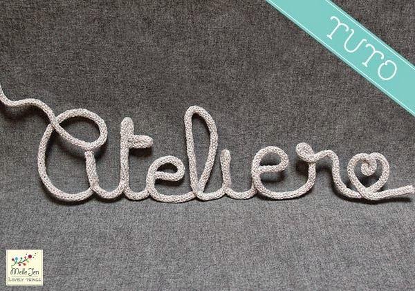mellejen tutoriel mot en tricotin craft room tricot. Black Bedroom Furniture Sets. Home Design Ideas