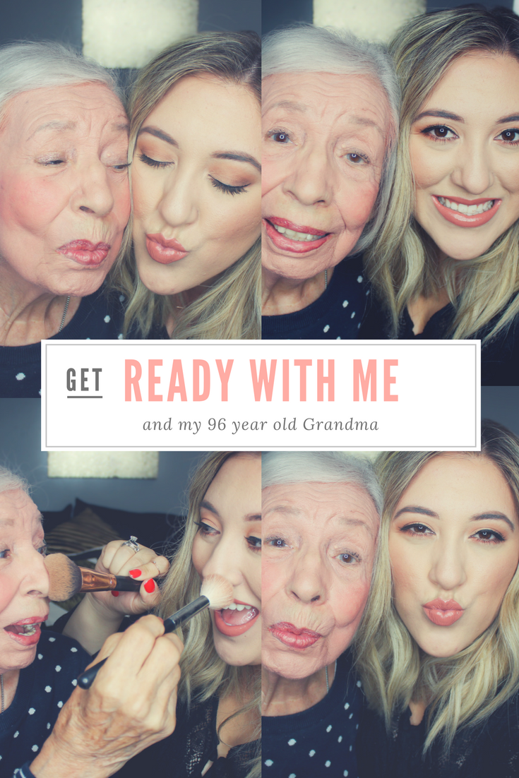 Grandma and Me Get Ready with Me Grace and Lipstick