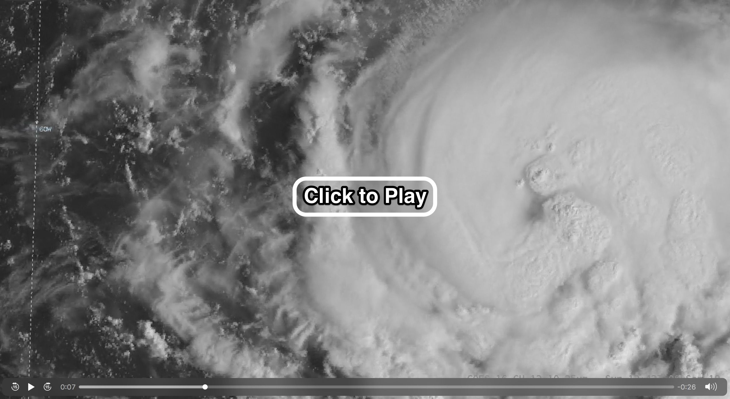 An Animation Of Amazingly Detailed Satellite Imagery Shows Florence Strengthening And Heading Toward The U S East Coast Discover Magazine Imagery East Coast