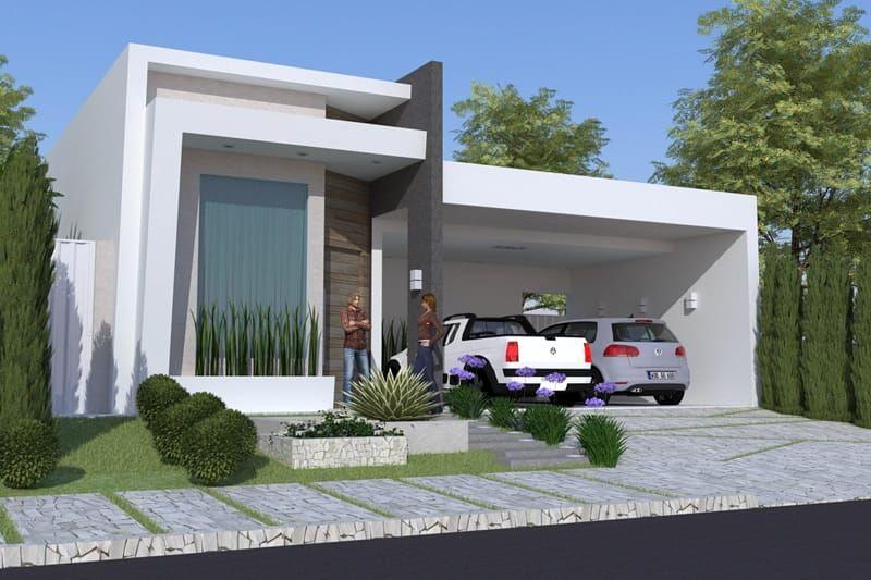 Plano de casa con piscina y hidro fachadas pinterest for Casa moderna con jacuzzi