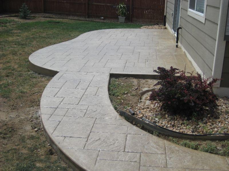 Concrete Patios Denver | Custom Decorative Concrete Patio Contractor