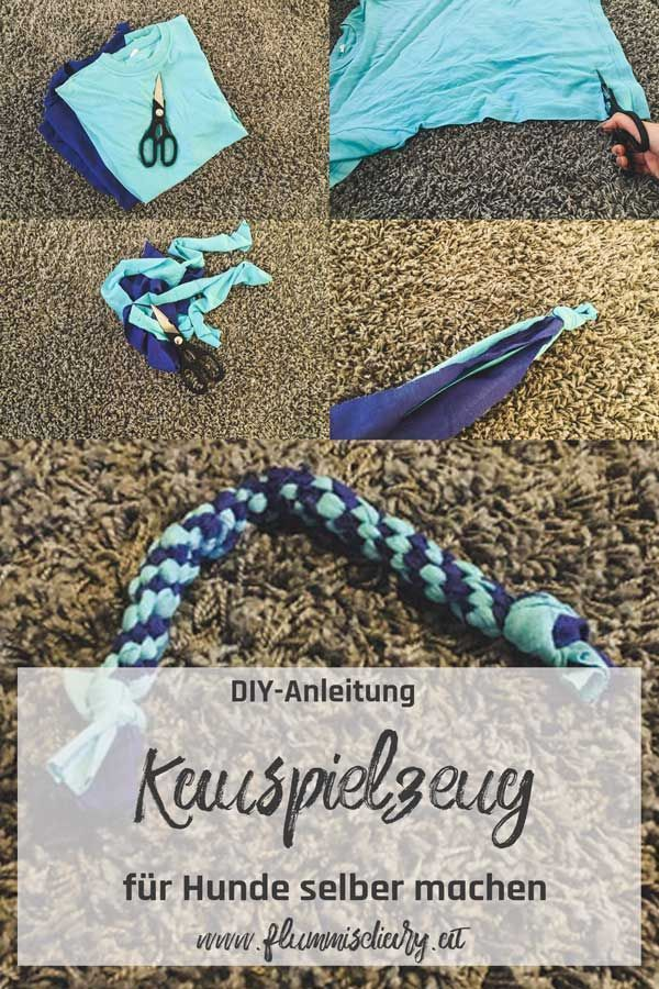 Photo of ➡ DIY Spielzeug für Hunde: Hundespielzeug zum Kauen & Zerren selber machen – Flummi's Diary