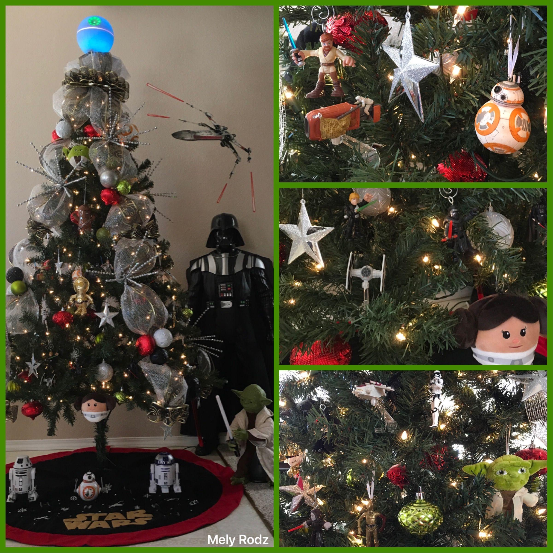 Star Wars Christmas Tree My Christmas Decorations Pinterest  - Star Wars Christmas Tree Ornaments