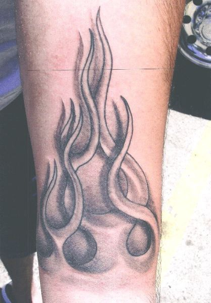 Flame Tattoos - Page 4 | Flame Forearm Tattoo Designs | Pinterest ...