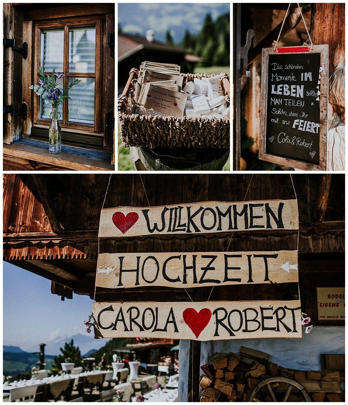 Hochzeit auf der Alm Carola und Robert