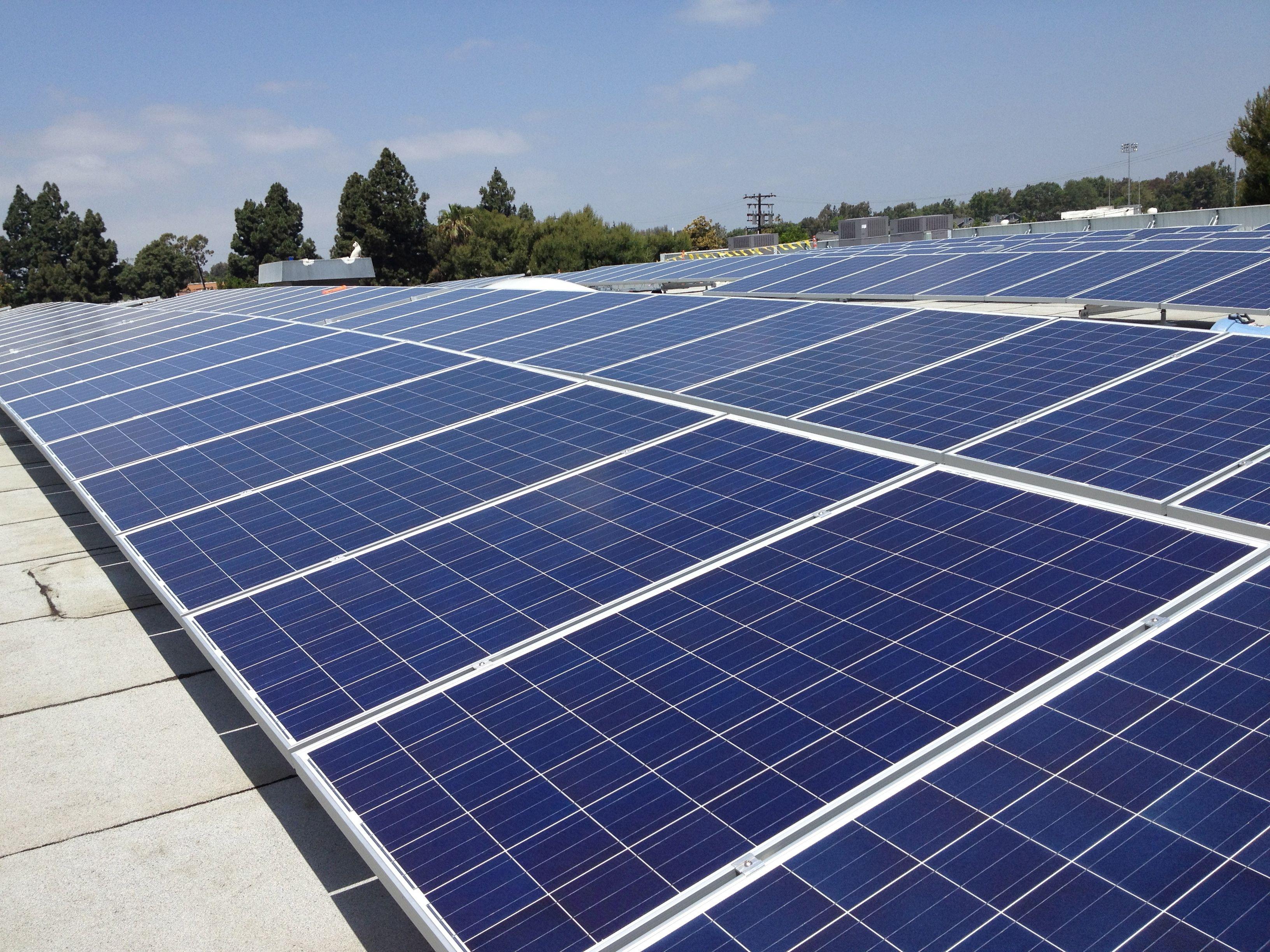 Rose Hill Solar Array Solar Solar Farm Roof Solar Panel