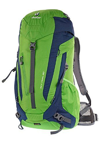 e0e3a60ac06 Deuter ACT Trail 30 Hiking Backpack One Size GreenNavy   Check out the  image by visiting the link.Note It is affiliate link to Amazon.   HikingPassion