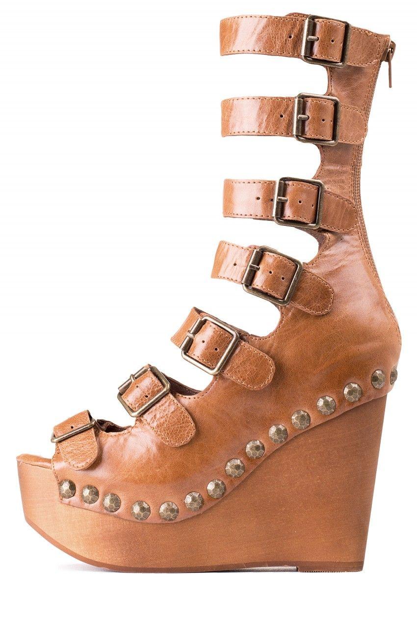 9c06143ab112 Jeffrey Campbell Shoes OMEGA Platforms in Tan ...