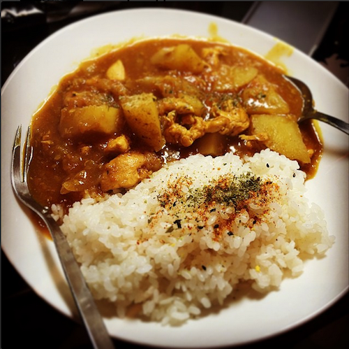 Ringo s homemade japanese curry aka curry of love real for Aka japanese cuisine