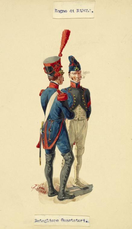 Regno di Napoli - Battaglione Guastatori