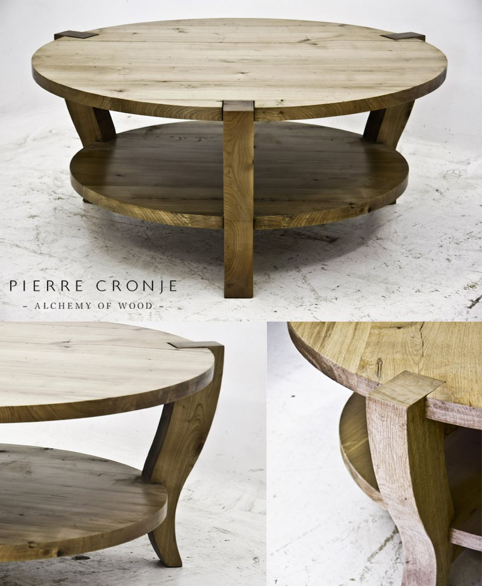 A Pierre Cronje Round Metro Coffee Table In French Oak Living Room Pinterest French Oak