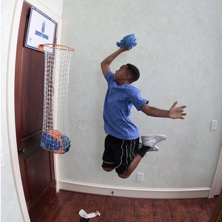 Basketball Hoop Laundry Basket Dirty Dunk Basketball Hoop Over The Door Laundry Basket Hamper For