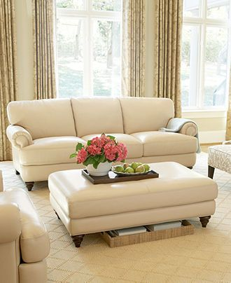 Beautiful Martha Stewart Living Room Furniture Sets U0026 Pieces, Lansdale   Furniture    Macyu0027s. White Leather ...