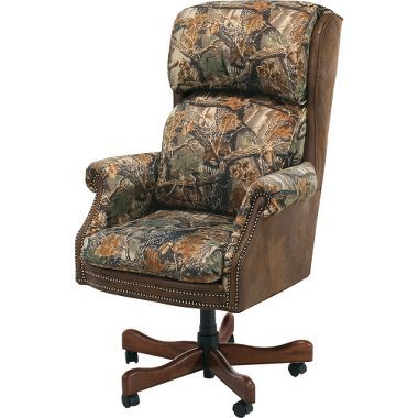 Cabelas CEO Seclusion Office Chair At