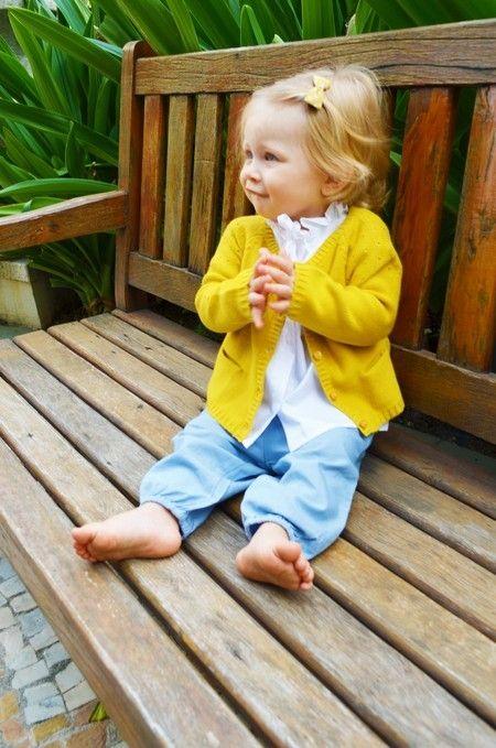 Cute little girl! www.littlejoy.com.br Worldwide Shipping!