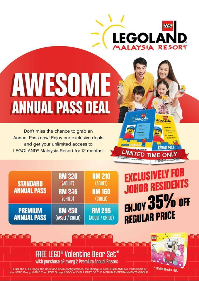 20-24 Apr 2016: Legoland Awesome Annual Pass Deal ...