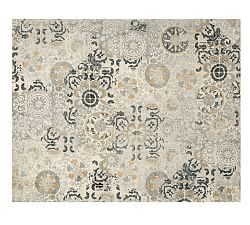 Nolan Persian Style Rug Neutral Pottery Barn Room